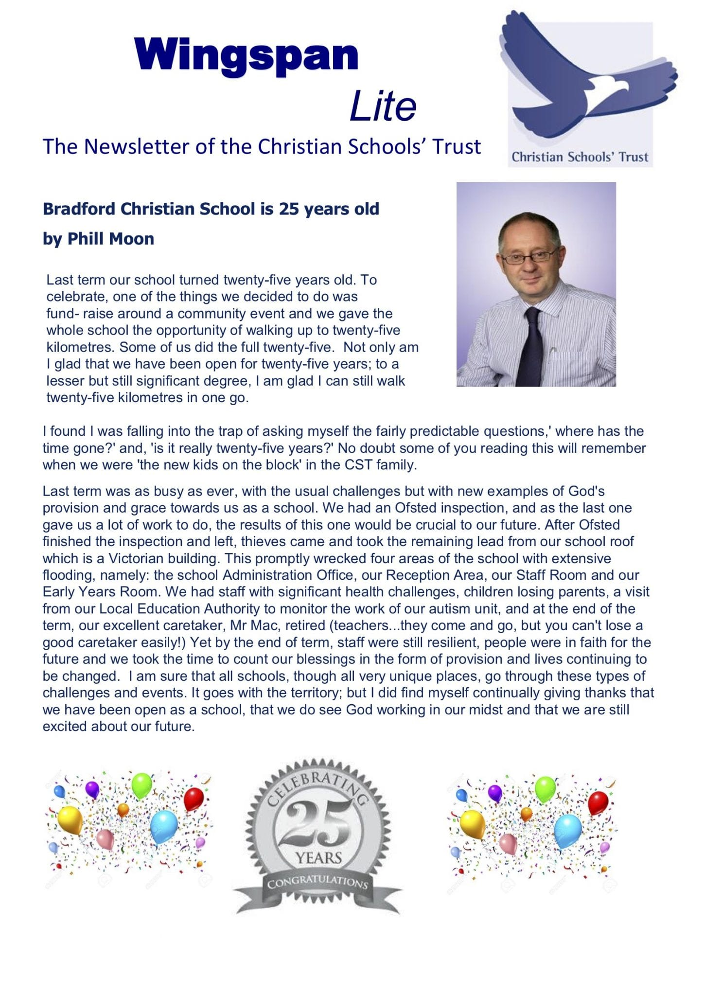 Bradford Christian School - 25 Year Celebration